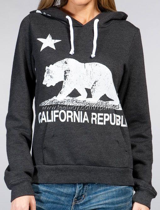 ca hoodie | Other Brand | ★[Rebel Yell]California Republic Hoodie