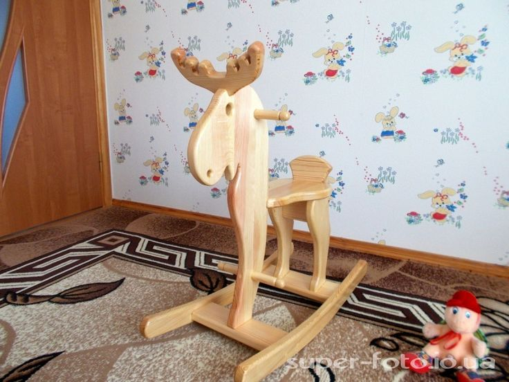 Кресло качалка Лось.