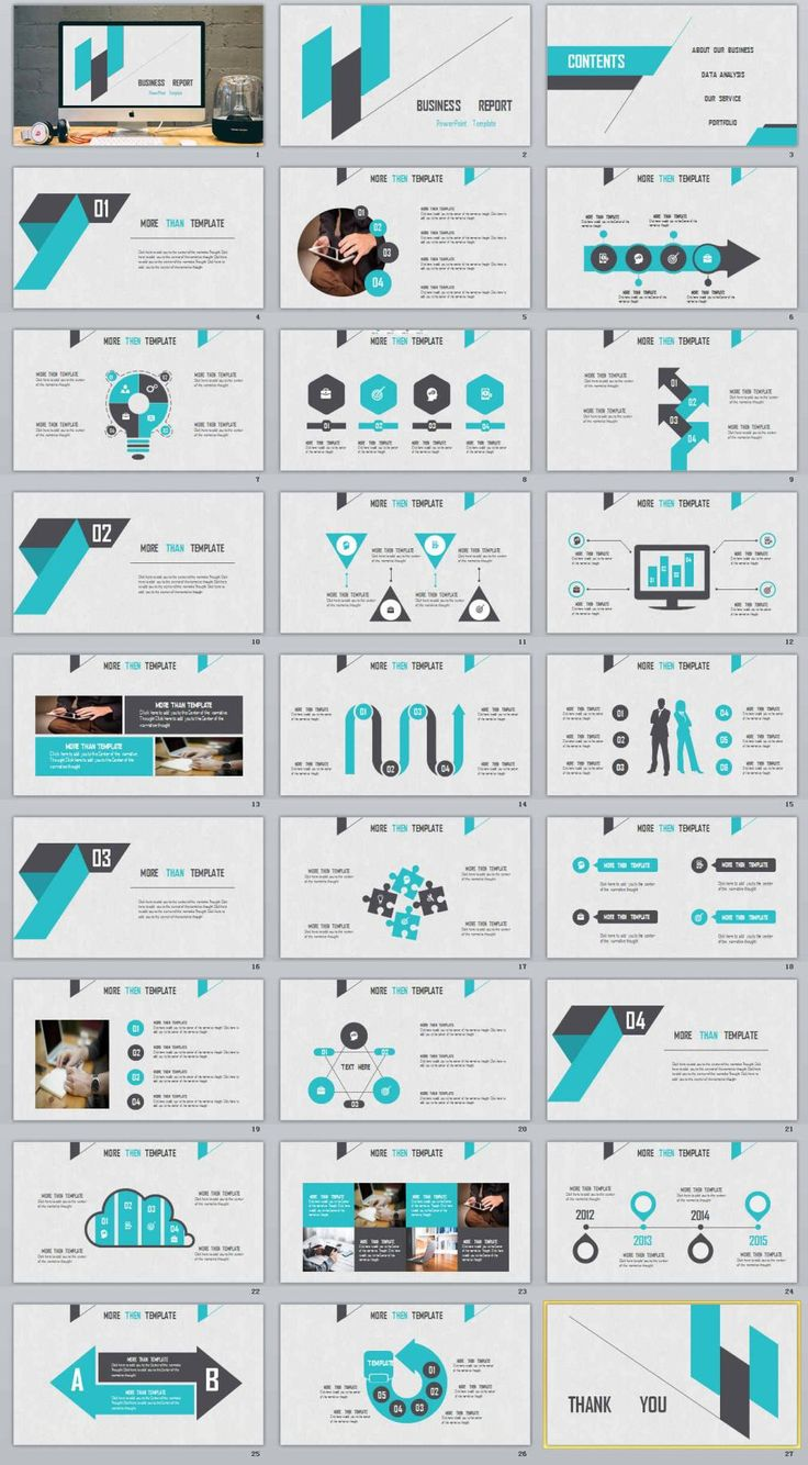 27+ Business Report Powerpoint Templates | PowerPoint Templates and Keynote Templates