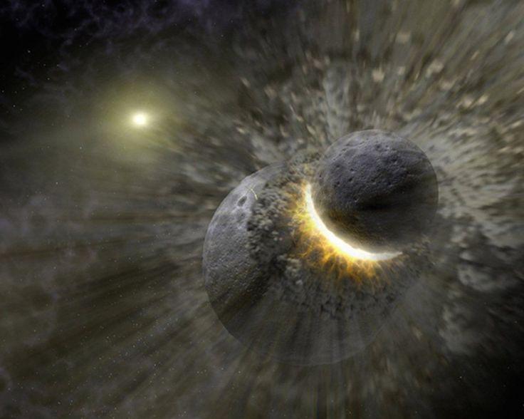 Если предположить, что Луна будет уничтожена, по мнению астрофизика Этана Зигеля, нашу планету ожидает 7 вариантов развития дальнейших событий.  Первым ученый назвал, что при уничтожении Луны ее многочисленные осколки полетят в сторону Земли. Большинство пройде