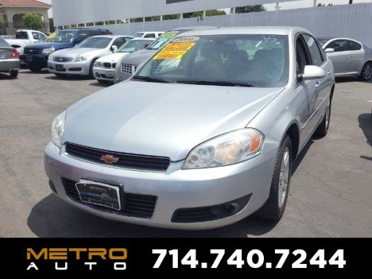 Sedan, 2006 Chevrolet Impala LT with 4 Door in La Habra, CA (90631)