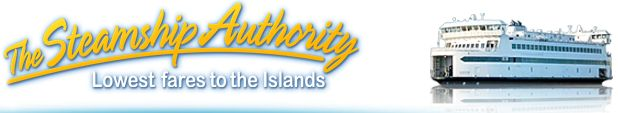Steamship Authority - Woods Hole to MV