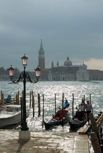 Looking toward St. Mark's Square - Venice