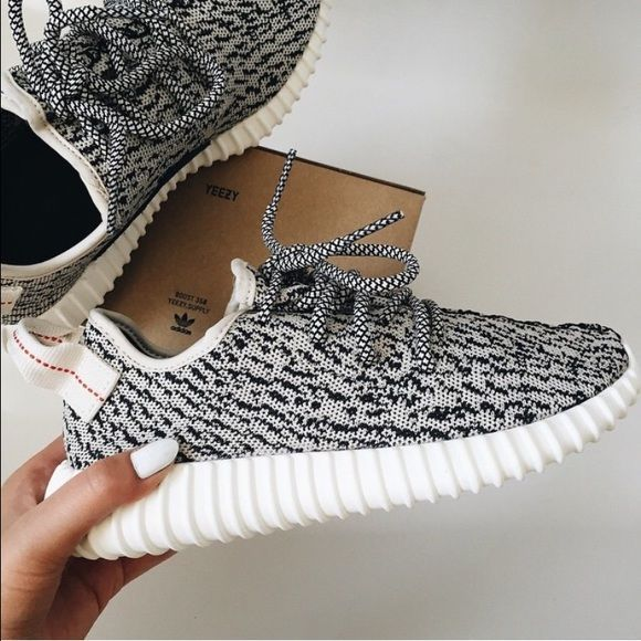 ADIDAS YEEZY BOOST 350 purchased for $400 on eBay & the seller said they were 100% real and included a picture of the reciept. sadly found out they're not real... still great condition and you can hardly tell apart there difference between the real ones and these. run a size bigger so they fit like an 8 Adidas Shoes Sneakers