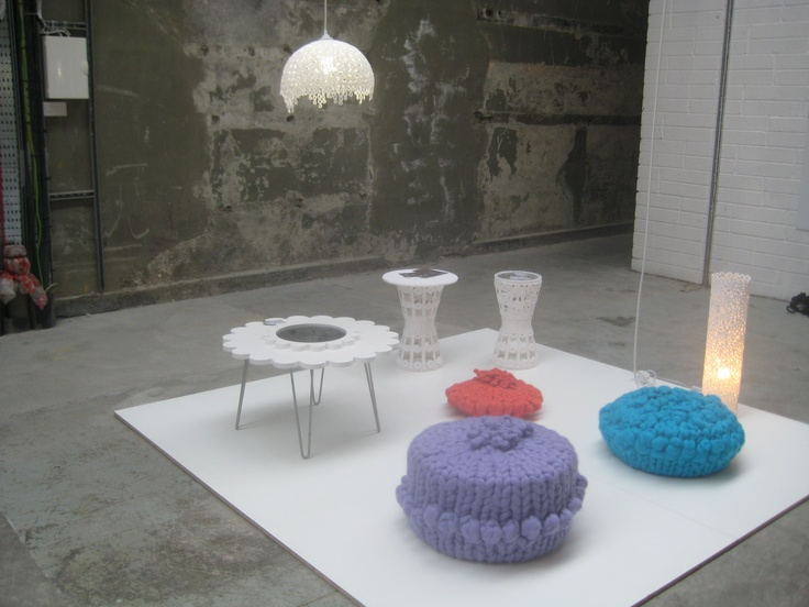 My exhibition space showing my work, June 2012 at Dublin Institute of Technology Grad show.