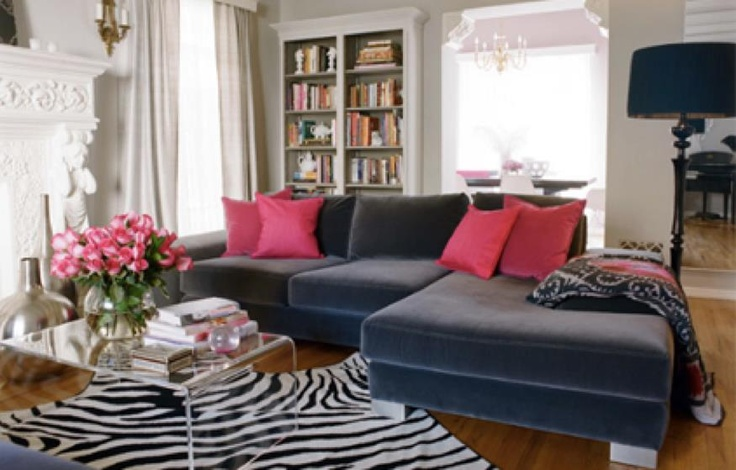 living room grey pink for the home pinterest