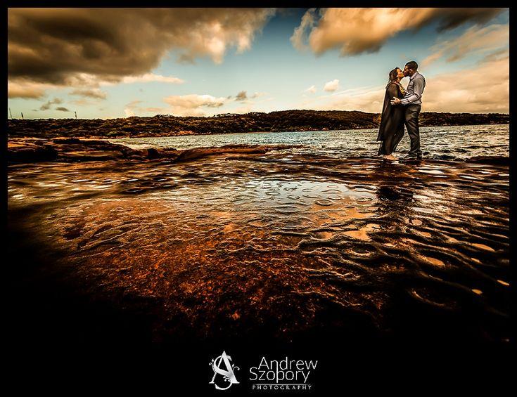La Perouse wedding photography after the rain sydney