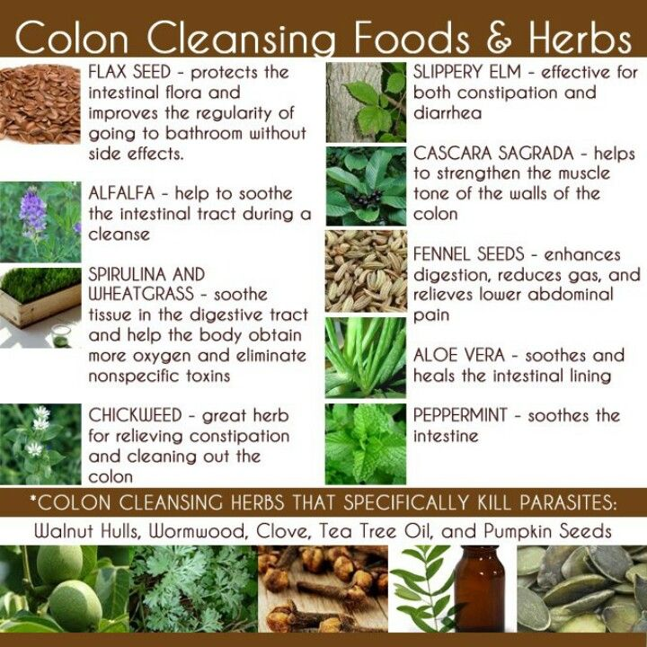 Herbs for colon health