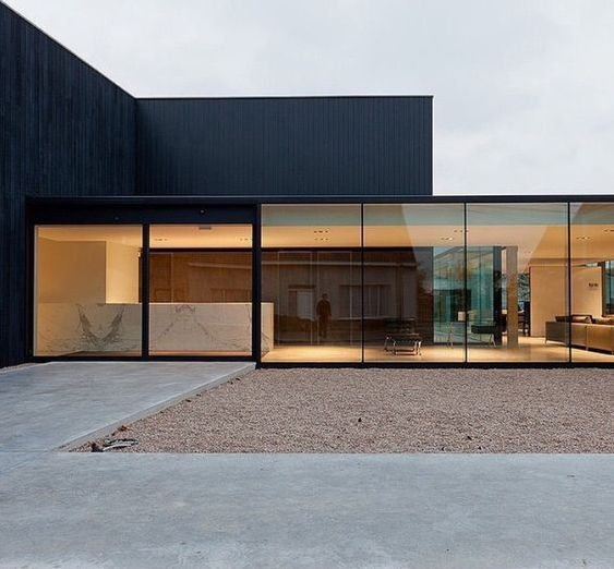 modern houses photo - Minimalist Architecture Houses