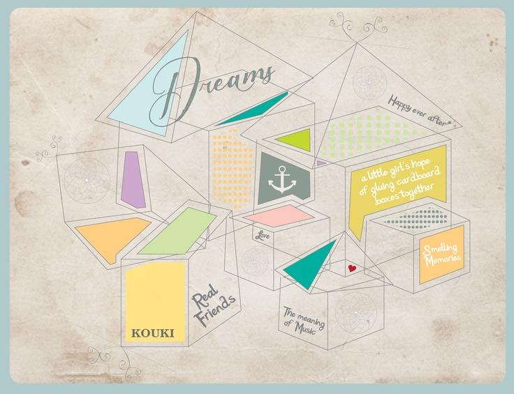 Cardboard Boxes by KOUKI Graphic Design