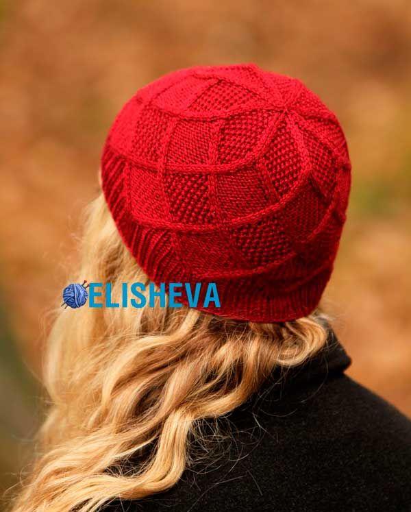 Красивая женская шапка от Jen Arnall Culliford. Обсуждение на LiveInternet - Российский Сервис Онлайн-Дневников