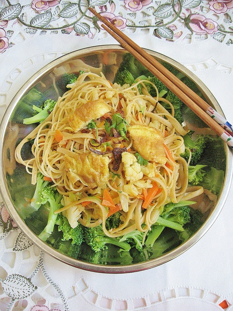 Home-Style Vegetarian Fried Noodles