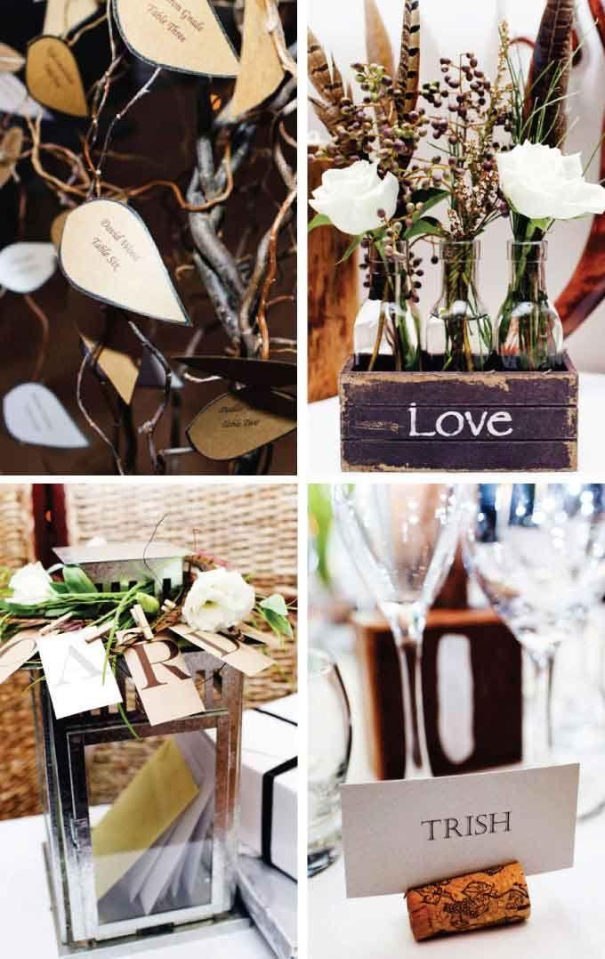 Wedding theme – 'Rustic Elegance' with a pinch of DIY