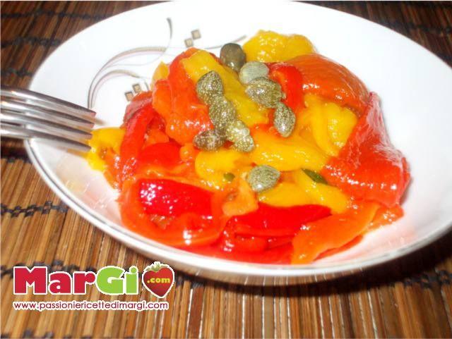 Ricetta peperoni arrostiti al forno contorni gustosi