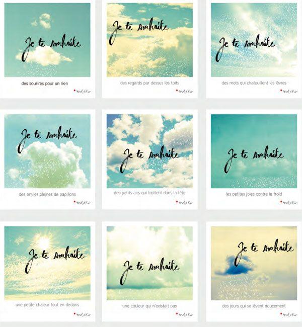 Wishing cards by Mel&Kio (Marie Ben) 9 postcards printed as polas £ 25