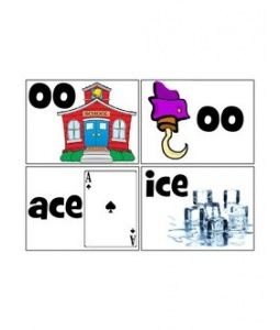 Free phonics dance cards