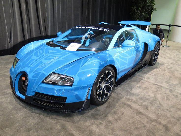 Sweet Bugatti at the International Auto Show San Francisco