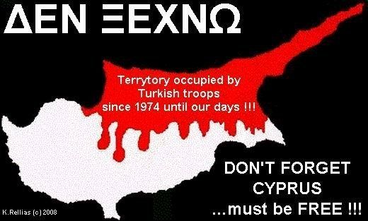 CYPRUS MUST BE FREE!!!