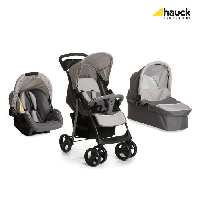 HAUCK Poussette Trio Shopper – Gris   – Products