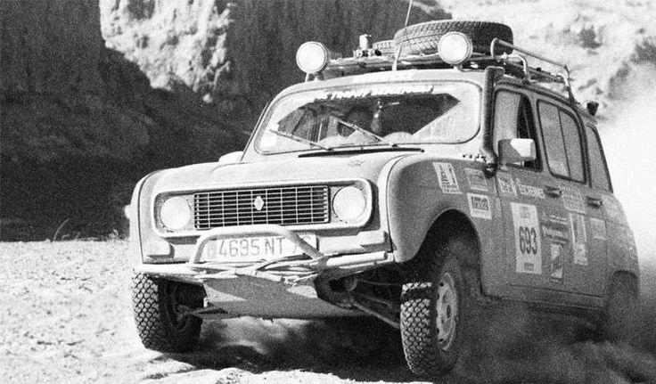 Nuova Renault R4 4x4: rendering - Renault R4 d'epoca