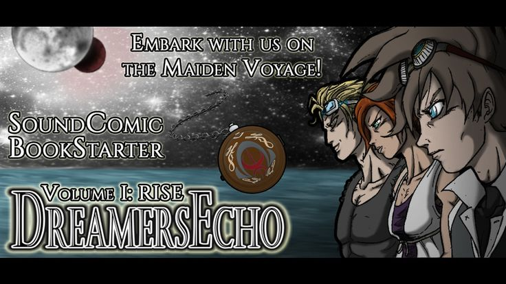 Support DreamersEcho Vol. 1 SoundComic: Graphic Novel + Soundtrack!  The maiden voyage of a new epic fantasy adventure spanning coast to coast of a desolate world inspired by classic JRPGs & steampunk!  https://www.kickstarter.com/projects/jetfalco/dreamersecho-vol-1-soundcomic-graphic-novel-soundt