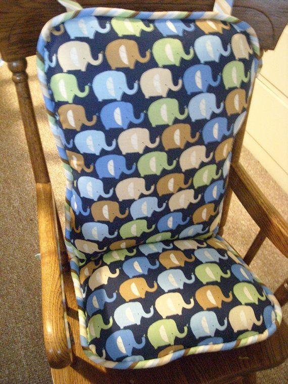 Custom Ruffle Chair Pads Reserved For Blantonm95