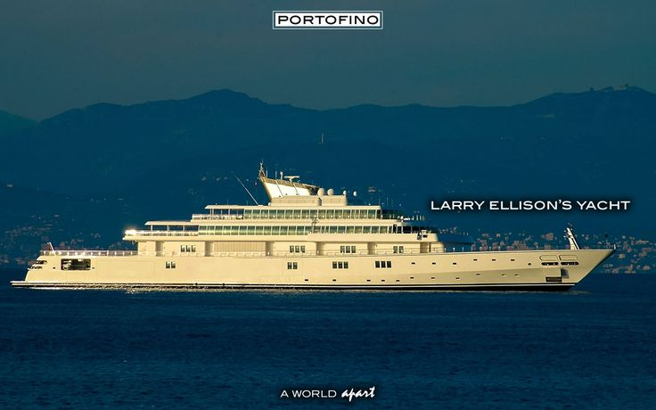 Portofino Larry Ellison Yacht