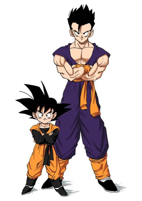 Where is Gohan's Gi he used when he trained with Goten ...