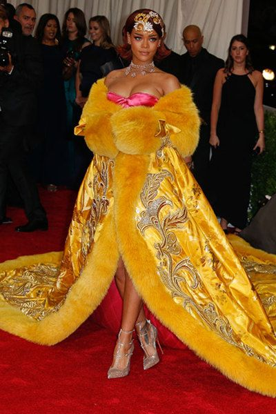 Rihanna - Princess of China | Met Gala 2015