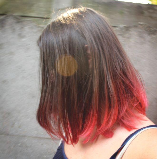 Pink Ombre Hair! DIY Tutorial | # HairstylesBob # Hairstyles90s # HairstyleshinnyHair # HairstylesWomen50