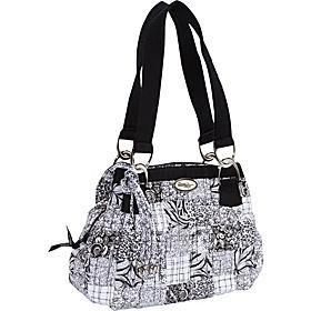 Donna Sharp Cindy Shoulder Bag, Salt & Pepper   - Salt & Pepper - via eBags.com!