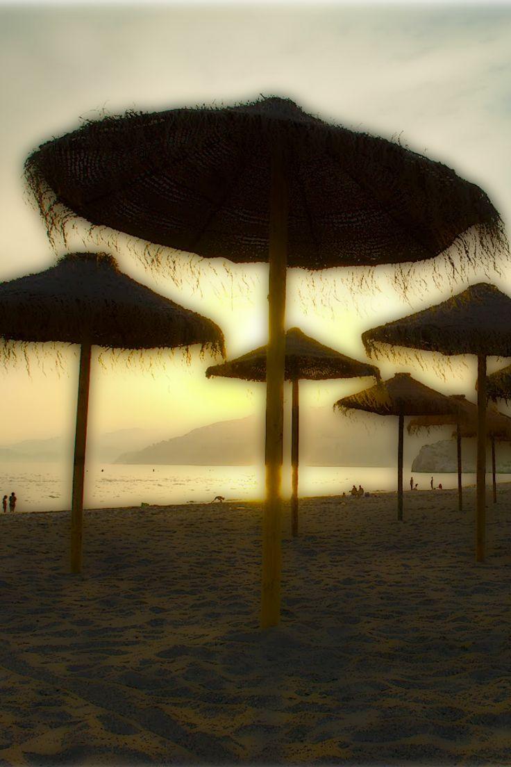 Salobrena beach just 15 mins from the beautiful village of Velez de Benaudalla www.thesecretspain.com