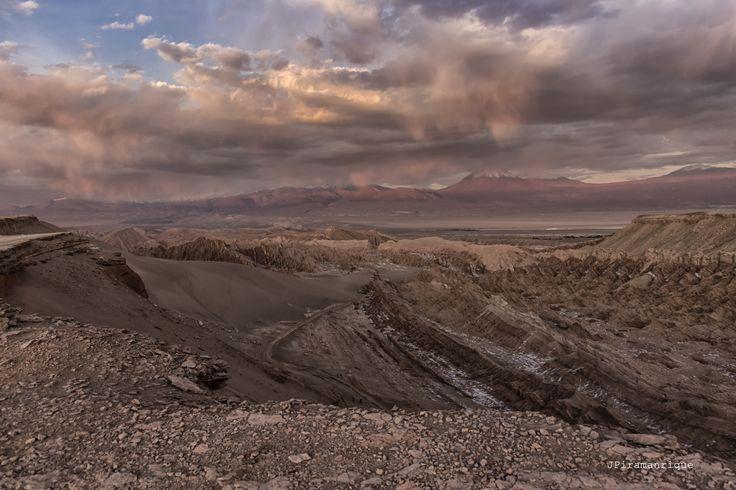 Mirador Valle de Marte / Muerte - San Pedro de Atacama, Chile.