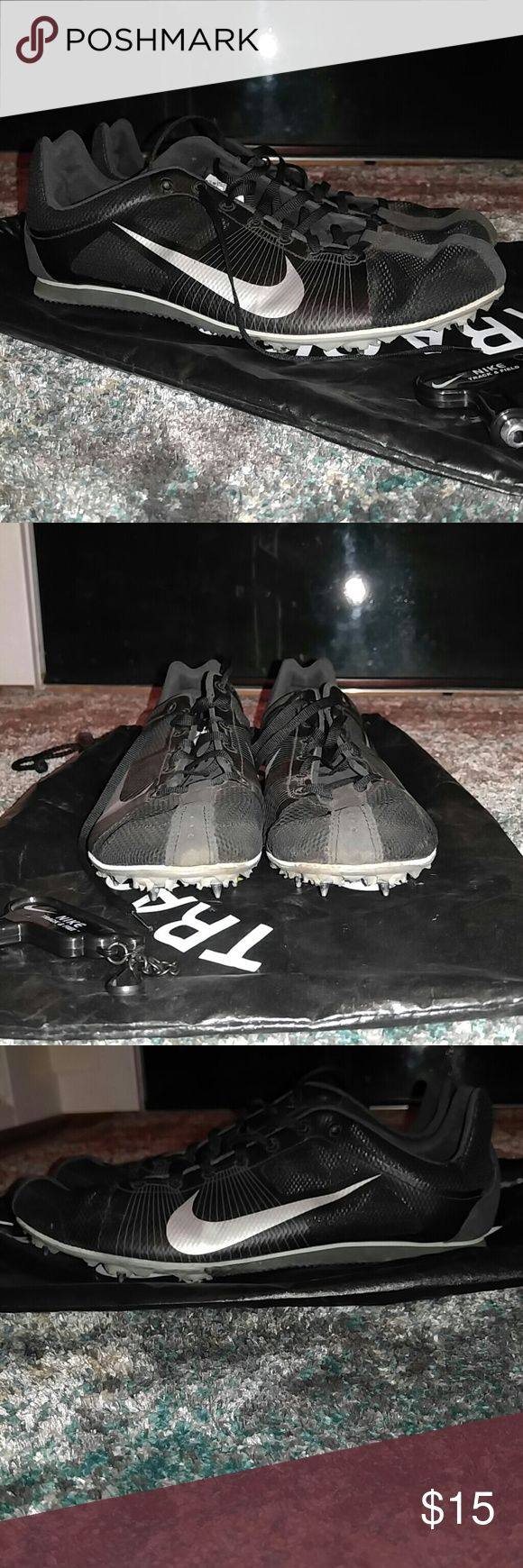 Nike Zoom Rival D Track Spike Shoes Nike track spikes in good condition. Only used for a season in high school. Spike wrench included. Nike Shoes Athletic Shoes