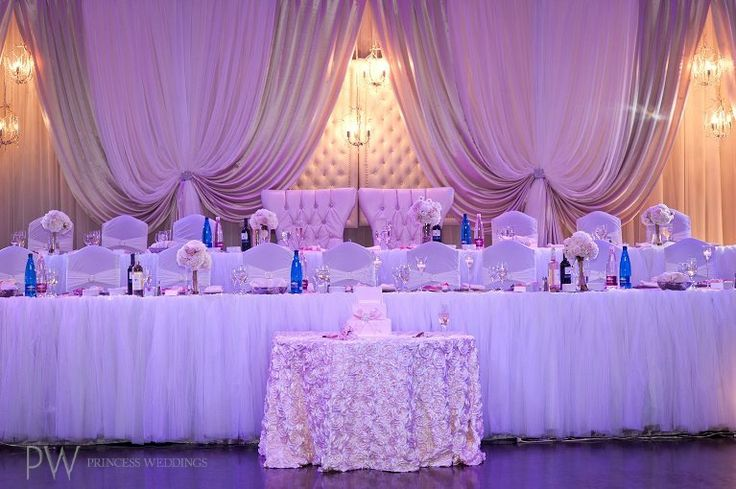 Head Tables | Princess Weddings & Occasions