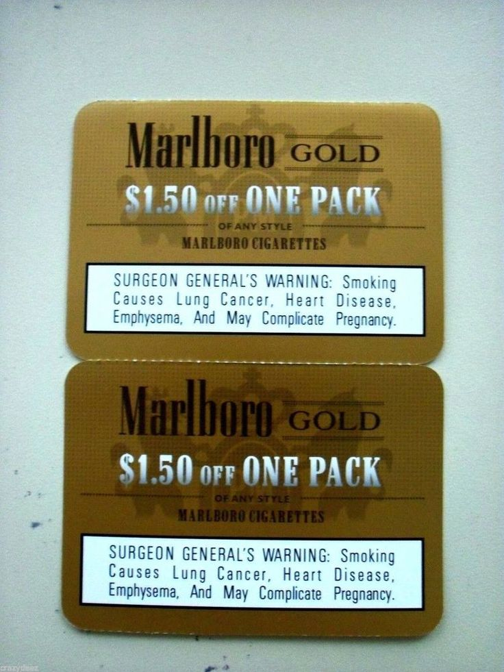 Mobile marlboro cigarette coupons