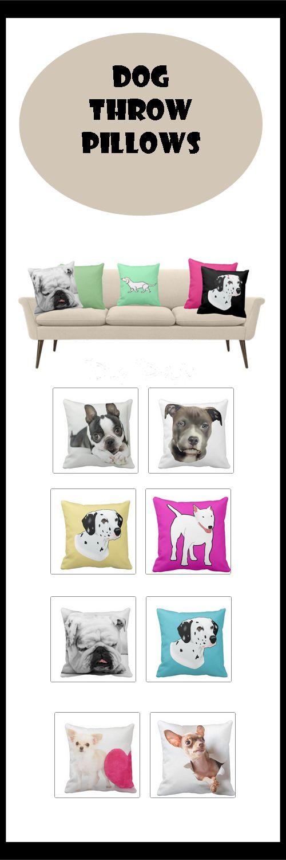 Throw Pillows I Love: Dog Inspired Throw Pillows