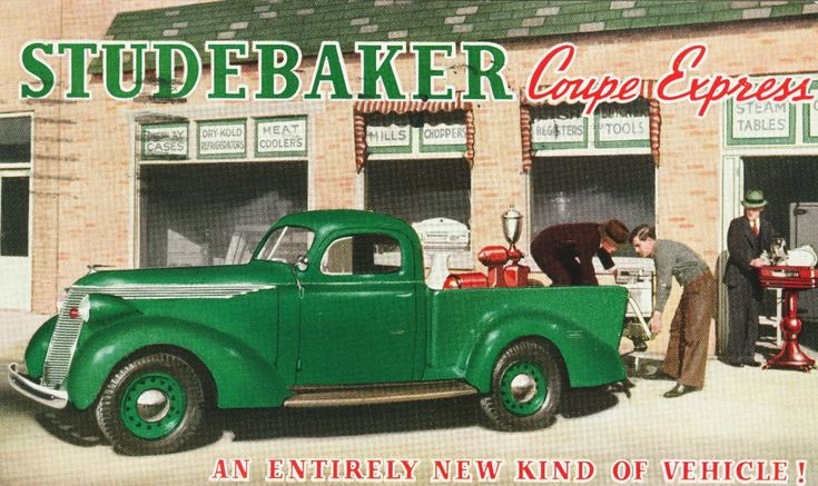 All sizes | 1937 Studebaker Coupe-Express Postcard | Flickr - Photo Sharing!