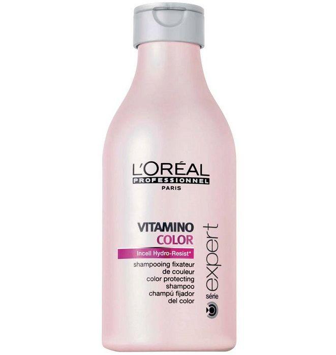 @loreal_es  El #champu Vitamino Color de l' Oreal #protectordelcolor y el brillo para cabellos coloreados o con mechas. Mantenimiento del color con Vitamina E, anti-oxidante, filtro UV y magnesio.  http://www.lapeluencasa.com/productos-loreal/productos-cabello/vitamino-color