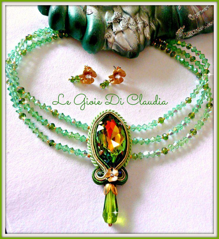collarino cristalli Swarovski  legioiediclaudia