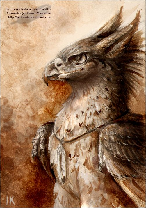 Ric as a gryphon by *Red-IzaK on deviantART