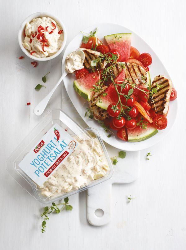 Delikat Yoghurt i Potetsalat on Behance