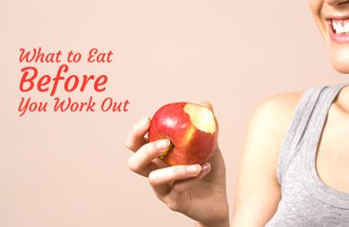Great pre-workout snack and meal ideas to help you reach your goals: What to Eat Before You Work Out | via @SparkPeople