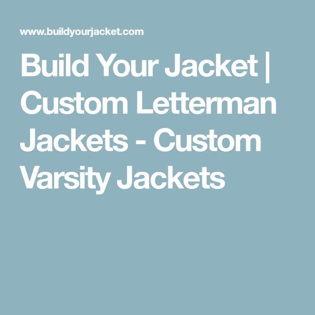 Build Your Jacket | Custom Letterman Jackets - Custom Varsity Jackets