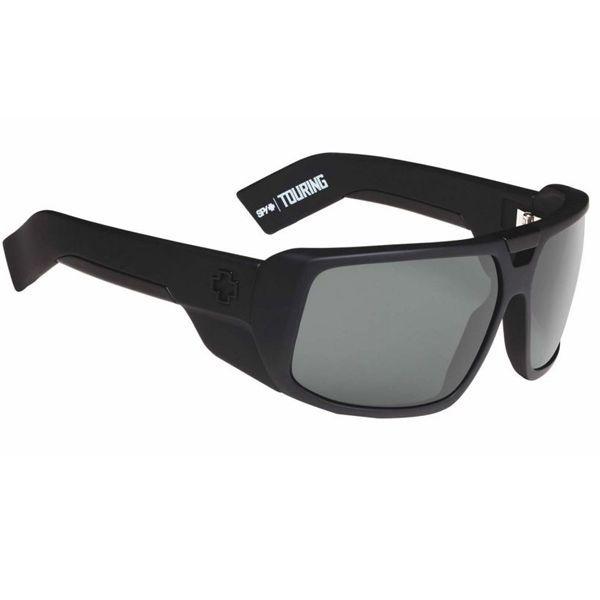d99f228f6c3 eBay  Sponsored Spy Touring Soft Matte Black Happy Grey Green Lens  Sunglasses SAVE 30% OFF RRP