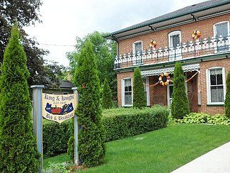 King & Knight B&B, Campbellford, Bed and Breakfast For Sale