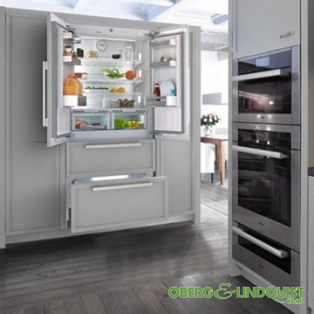 The Kfnf 9955 Ide By Miele Has Maximum Convenience Thanks To Generous Large Capacity And Ice Maker Fresh For Up To 3x Longer T Miele Love Your Home Ice Maker