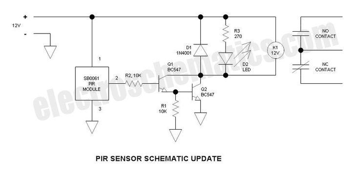 Security Light & Switch with PIR Sensor