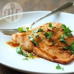 Photo de recette : Saumon à l'érable