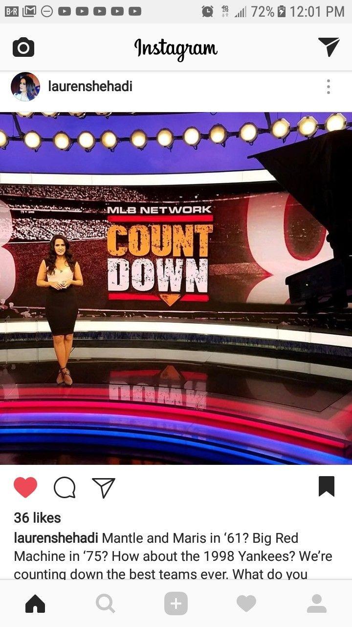 Hot Lauren Shehadi In White Shirt And Black Skirt Lauren Black Skirt Instagram